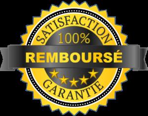image de la garantie satisfait ou remboursé pour la marque slendertone