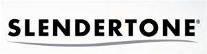 logo noir représentant la marque slendertone