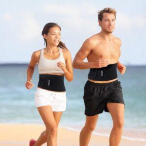 faire du sport avec une ceinture abdominale femme