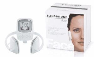 contenu de la boîte du slendertone face pour l'électrostimulation visage