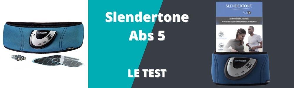 bannière du test et avis de la Slendertone abs5